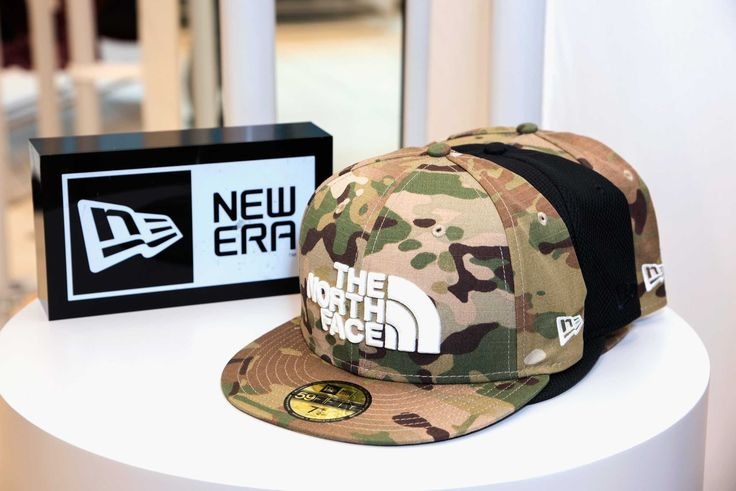 The North Face Teams Up With New Era To Launch a Collection of 59FIFTY Fitted Caps.