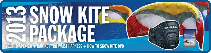 Snow Kiting Kites and Gear For Sale, From Experts at Kitty Hawk Kites Online Store!