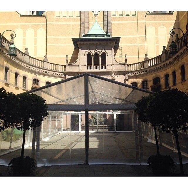 #tavet #tent #event #party #tält #fest #dukning #uthyrning #festtält #hyratält #hallwylskamuseet #hallwylskapalatset