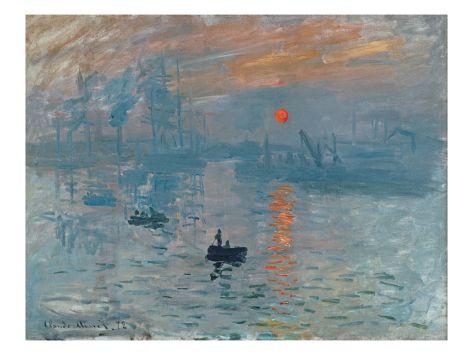 Impression: Sunrise, 1872 (Oil on Canvas)