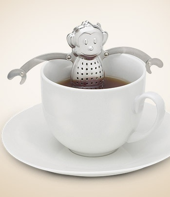 Monkey Tea Infuser from the lovely Lin