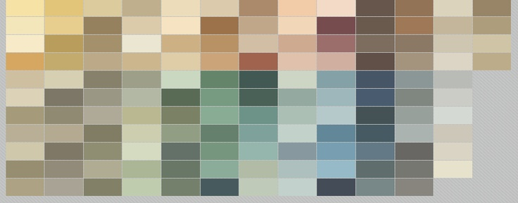Find your color ux ui designer house colors and colors Benjamin moore historical collection