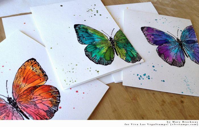 Butterfly Gossamer/Large 4 1/4 X 3 1/2
