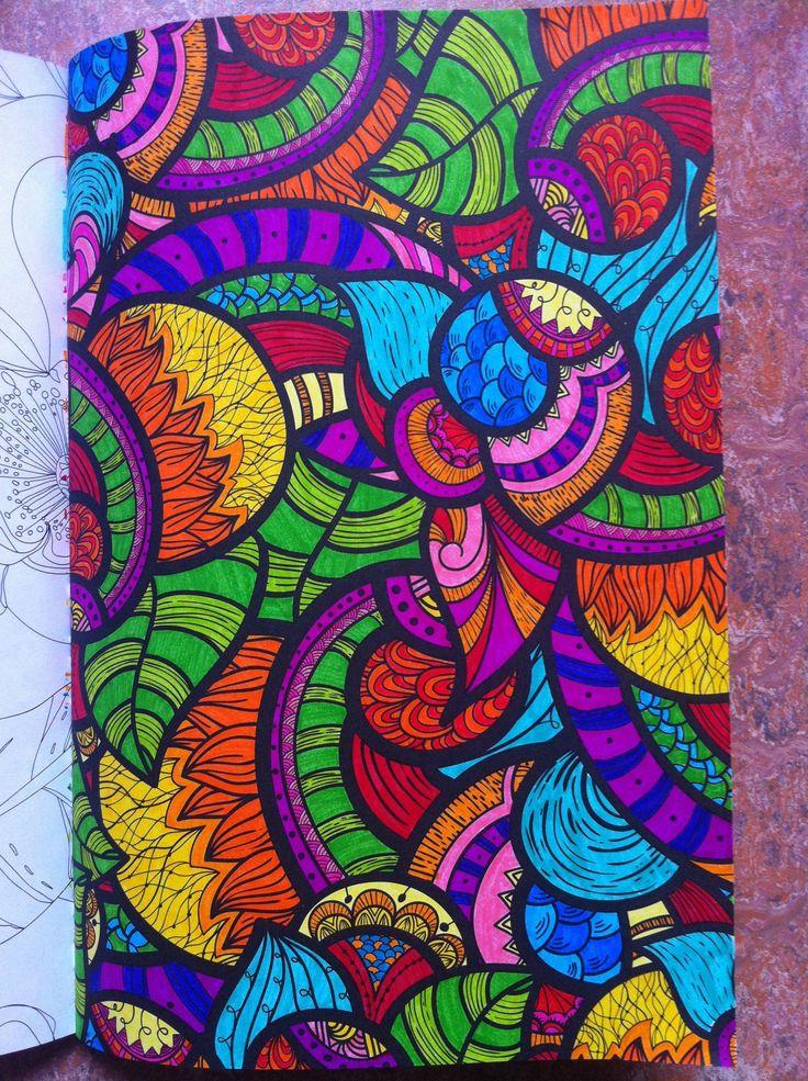 Coloring For Adults Adult Books Doodle Ideas Mandala Art Zentangles Pens Doodles Draw
