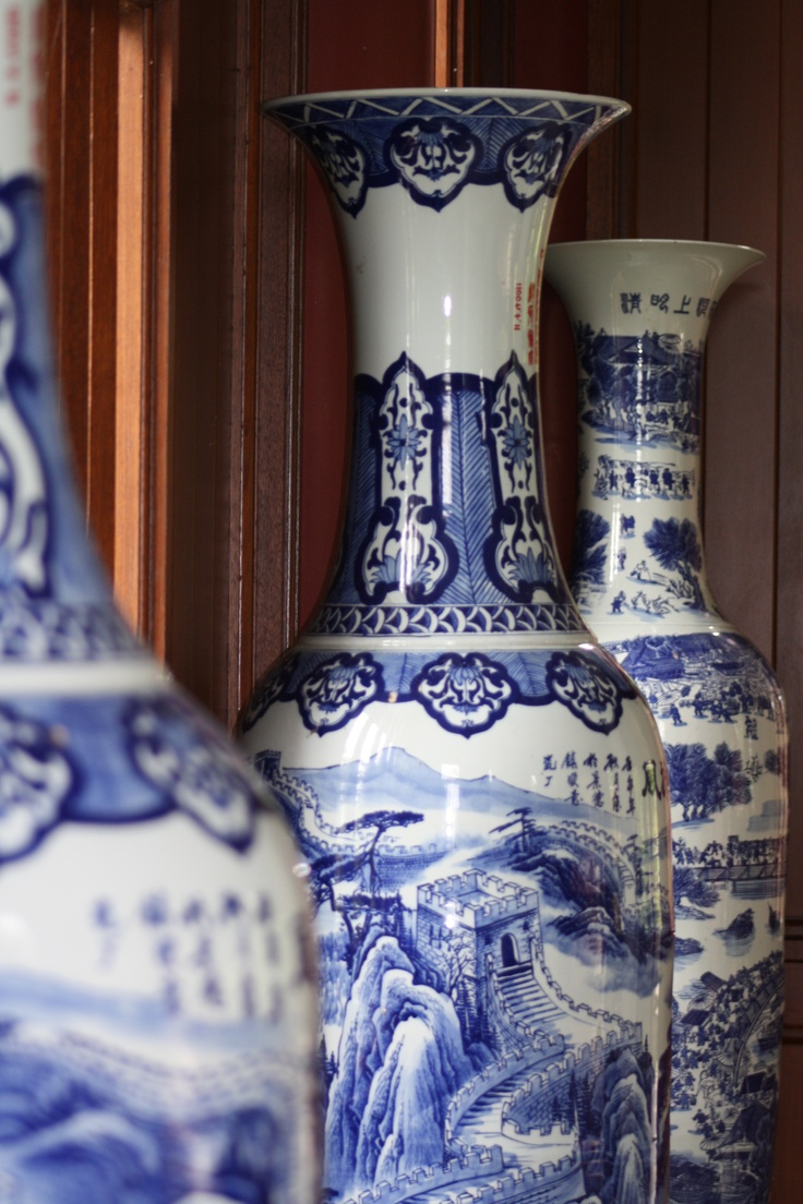 Three Vases at the Fo Guang Shan Buddhist Temple, Auckland.