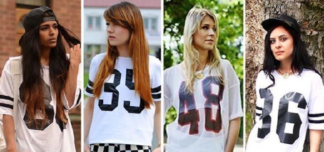 Camisetas de Futebol Americano Femininas. Aprenda como montar looks perfeitos com elas!