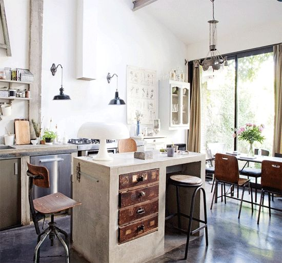 Pics Of Rustic Industrial Kitchen: 99 Best Cool Decorating Tricks Images On Pinterest
