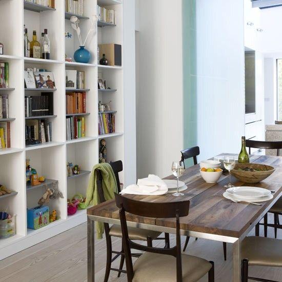 Esszimmer Wohnideen Möbel Dekoration Decoration Living Idea Interiors home dining room - Eingebauter Speicher Esszimmer