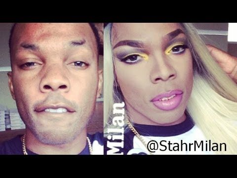 Blac Chyna Lashed Tutorial + Hair Review