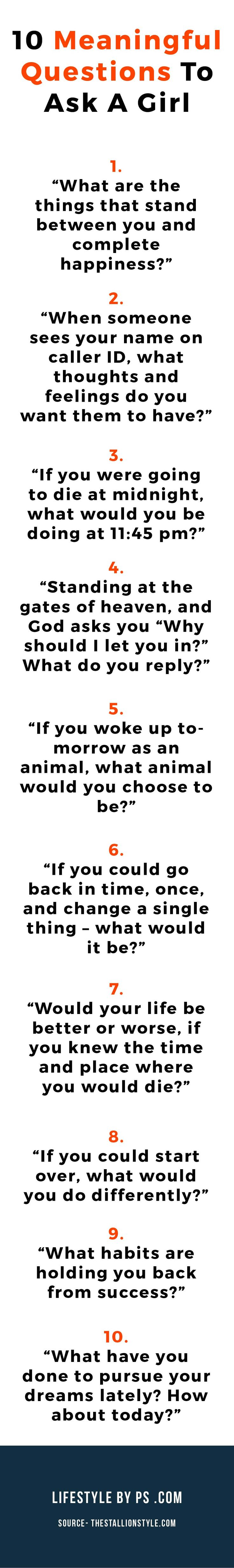 150 questions to ask a girl you want to impress this or