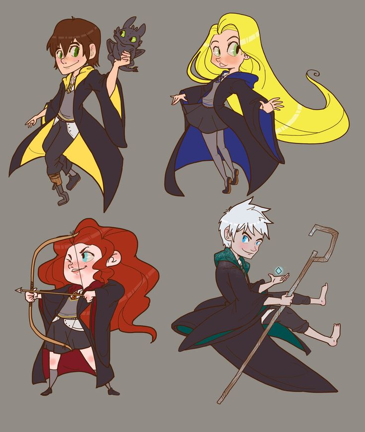 RotBTD Hogwarts AU