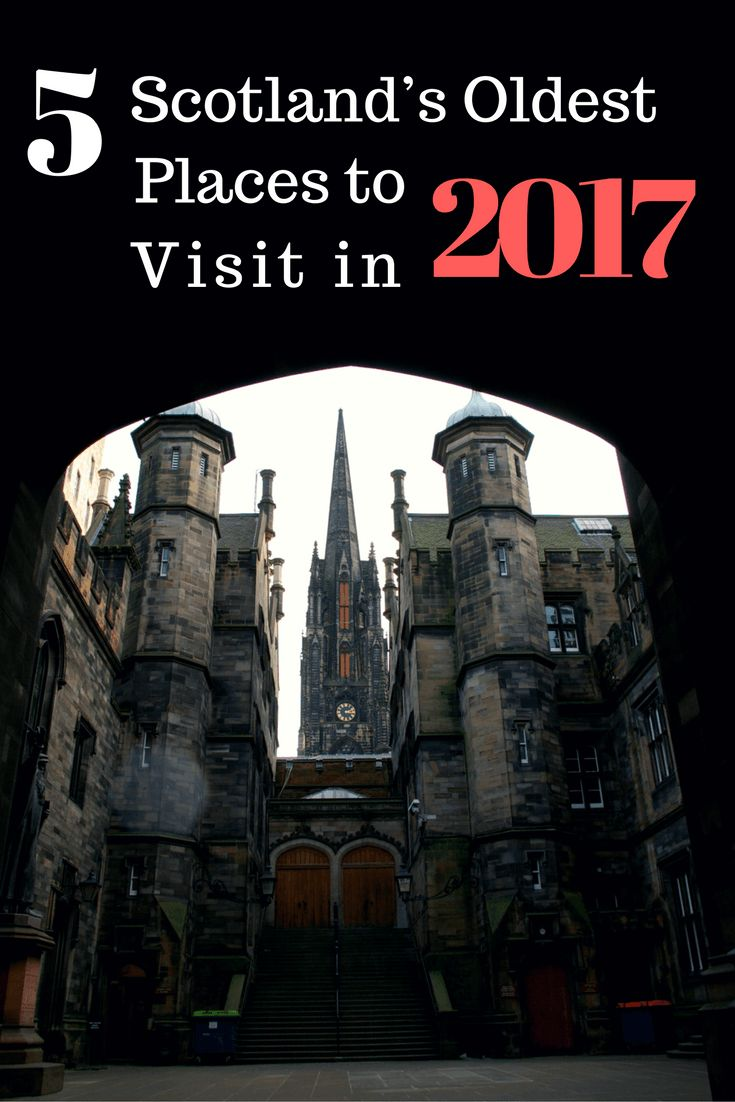 With 2017 being the Visit Scotland Year of History, Heritage and Archaeology, what better time to look at Scotland's oldest places?
