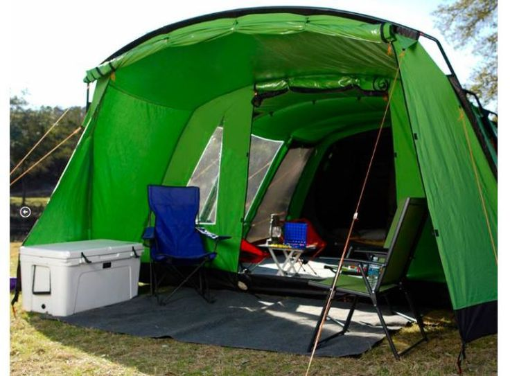 Amazing tent that's cool in summer, hot in winter and muffles sound is here