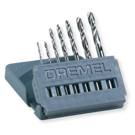 Dremel 7-Piece Drill Bit Set, Multicolor
