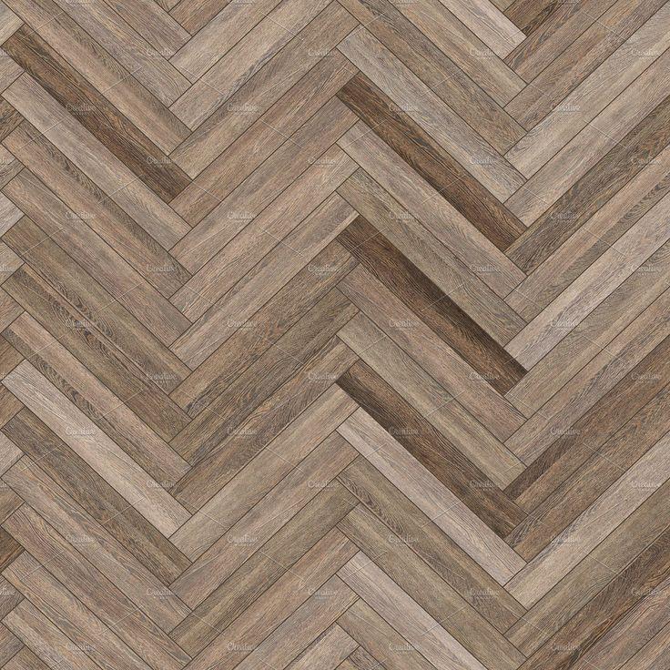 Seamless Wood Parquet Texture Herringbone Neutral By