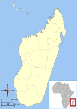 Location of Madagascar in relation to Africa-June 18,	1940-Hitler Informs Mussolini of Plan to Send All Jews to Madagascar-The Madagascar Plan was a proposal of the Nazi government of Germany to relocate the Jewish population of Europe to the island of Madagascar. Franz Rademacher, head of the Jewish Department of the Ministry of Foreign Affairs for the Nazi government, proposed the idea in June 1940, shortly before France's defeat in the Battle of France. The proposal called for the handing…