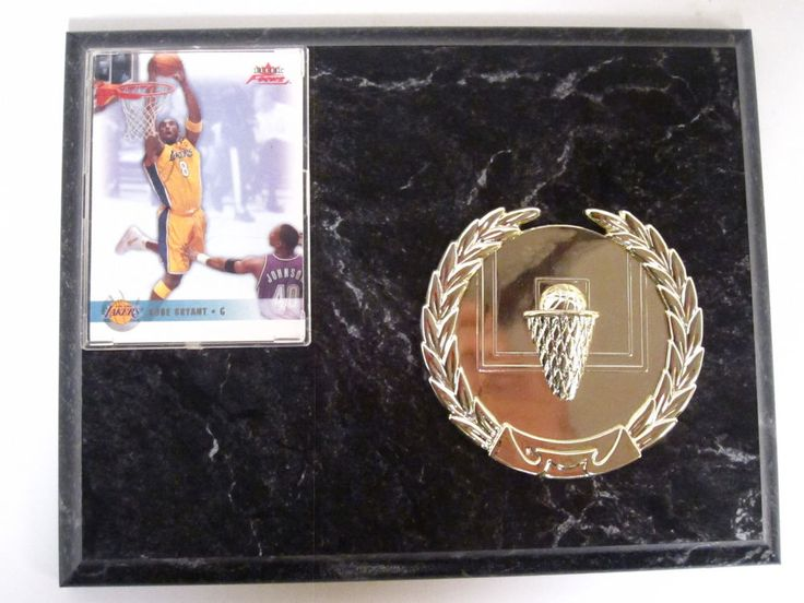 Kobe Bryant Vintage 90's Plaque 90's Kobe Basketball Card Black Mamba | eBay