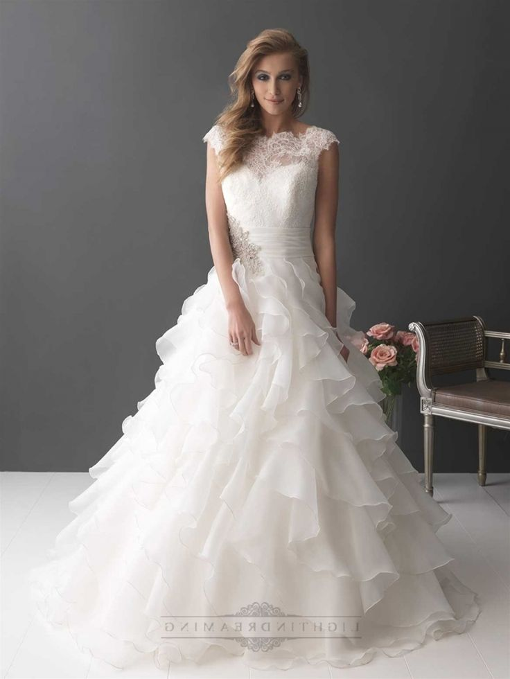 Layered Wedding Dress With Sleeves : Layered wedding dresses on weeding weding