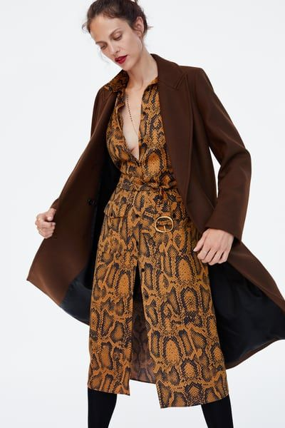 c3f47ee7 Image 5 of SNAKE PRINT TUNIC from Zara | autumn looks in 2019 ...