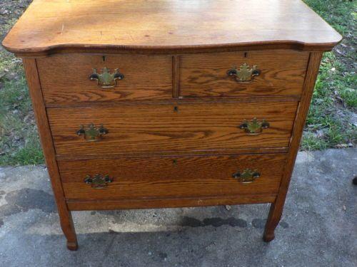 antique vintage oak dresser mirror primative early american furniture early american furniture. Black Bedroom Furniture Sets. Home Design Ideas