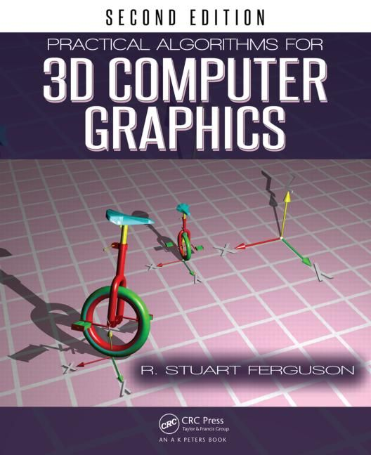 Practical Algorithms for 3D Computer Graphics, Second Edition covers the fundamental algorithms that are the core of all 3D computer graphics software packages. Using Core OpenGL and OpenGL ES, the book enables you to create a complete suite of programs for 3D computer animation, modeling, and image synthesis.   Since the publication of the first edition, implementation aspects have changed significantly, including advances in graphics technology.