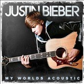"Like New.  Justin Bieber My Worlds Acoustic Audio CD By  Justin Bieber :  Product Details: Justin Bieber goes back to where it all began with an acoustic gift to his fans. Features new acoustic versions of ""One Time"", ""Baby"", ""One Less Lonely Girl"", ""Never Say Never"" featuring Jaden Smith and more. Plus the Should Be Me 9.  Never Say Never - Featuring Jaden Smith 10.  Pray  Format:  Audio CD   UPC:  602527562452"