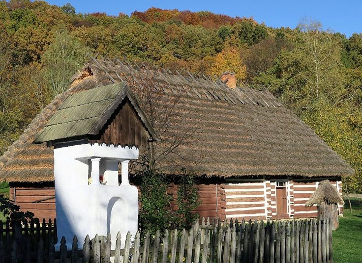 Sanok. Open air museum.