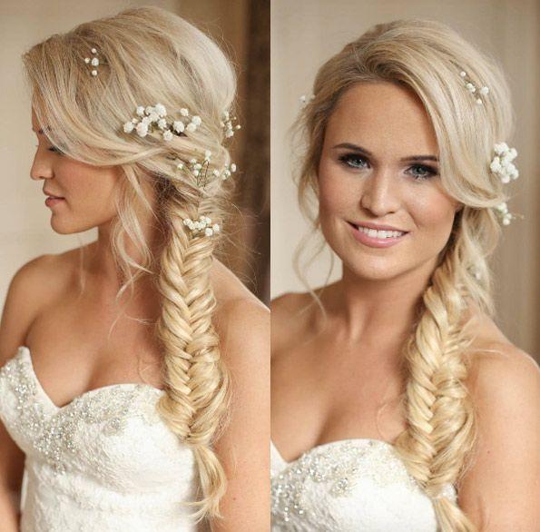 Fishtail Braid By Kasia Fortuna Side Braid Hairstyles Hair Styles Braided Hairstyles