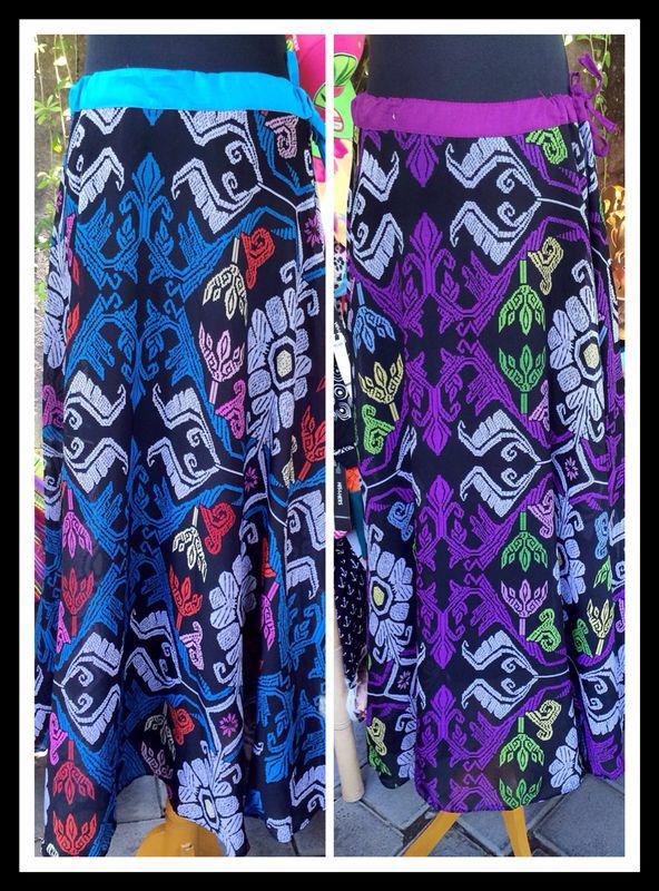 Ikat long skirt  #indonesia