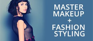 Master Makeup + Fashion Styling courses online