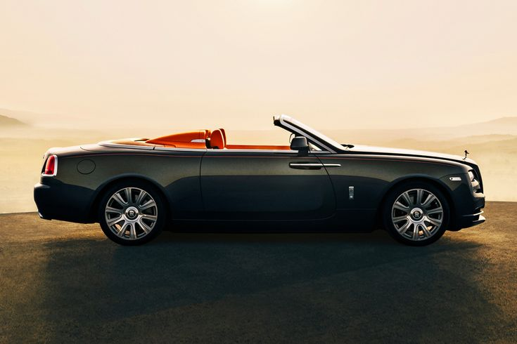 Rolls-Royce Unveils the Dawn Aero Cowling - Rolls Dawn Aero Cowling is undeniably the star of the new unveils. The ultra-light convertible rework features a 570-horsepower V12 engine and contemporary interior styling and hidden storage compartments #geneva...x
