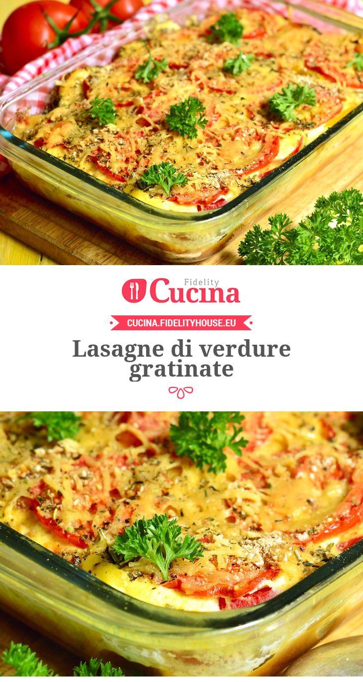 #Lasagne di #verdure gratinate