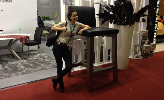 Dongguan & Guangzhou Furniture Fairs with www.kirstywhyte.com