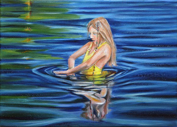 Oil painting. 27x33 cm.
