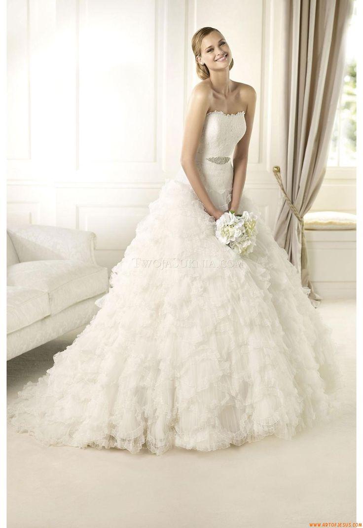 Wedding Dress Pronovias Donostia 2013