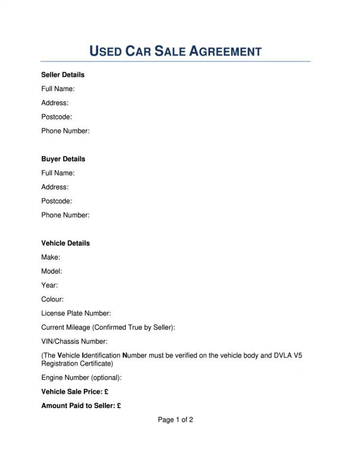 Free Car Invoice Template Private Sale In 2021 Invoice Template Contract Template Receipt Template