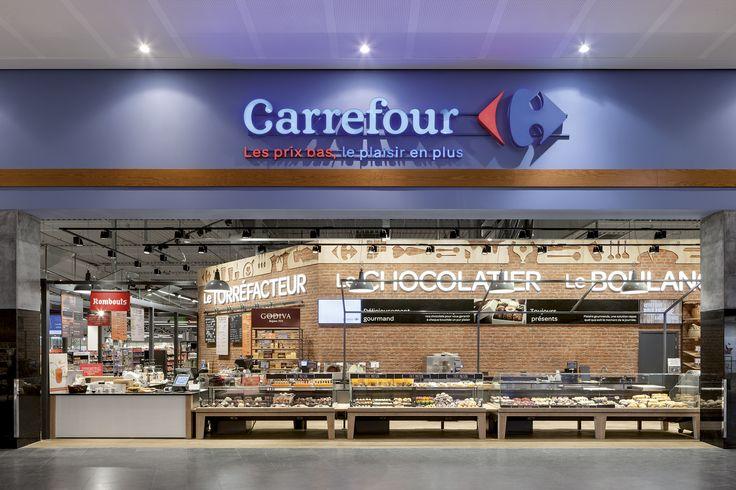 Carrefour, Mons (Belgium) #food #fresh #light #retail #beleuchtung #licht #carrefour #schweitzerproject