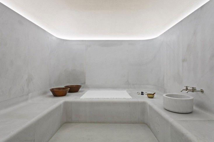 Akasha Spa at Hotel Cafe Royal London designed by David Chipperfield