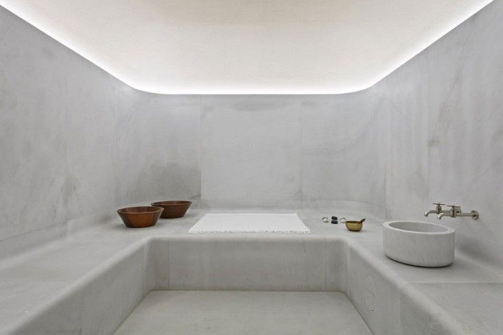 Akasha Spa at Hotel Cafe Royal London designed by David Chipperfield