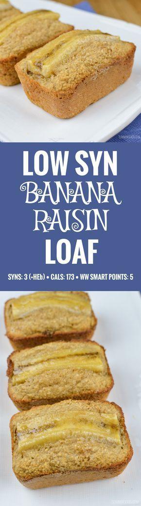 Mini pain aux bananes et à la banane Slimming World Low Syn – sans gluten, végétarien, Slimmi …   – slimming world recipes