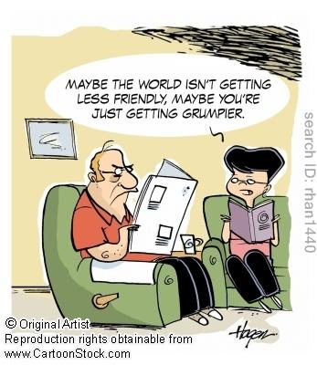 Grumpy Old Man Cartoon Images - Bing Images