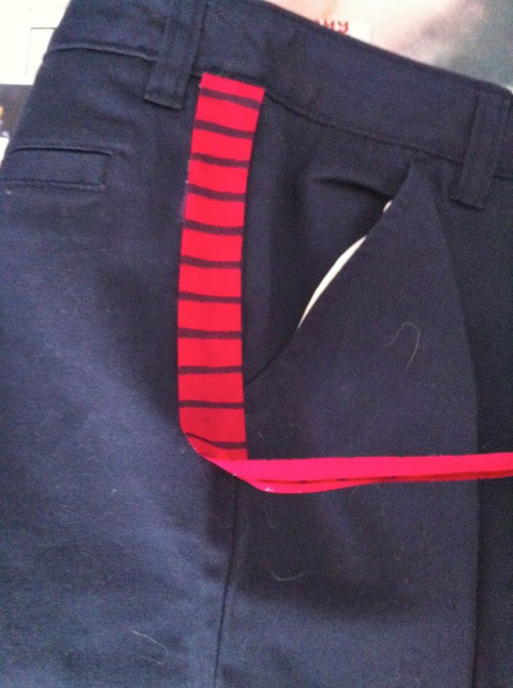 Han Solo Pants Red Bloodstripes - Cosplay Tutorial well my Comic-Con cosplay creation shall begin here