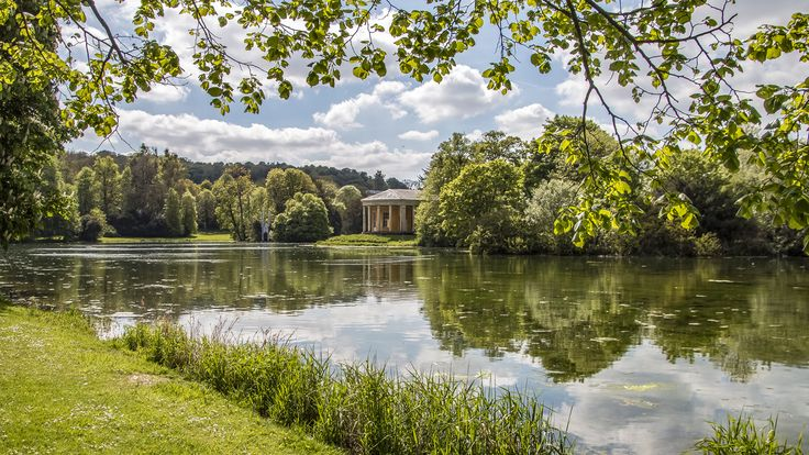 Explore the Palladian home of the Dashwood family at the National Trust's West Wycombe Park, Village and Hill, Buckinghamshire.