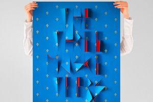 Серия типографических постеров на основе сюжетов известных романов.