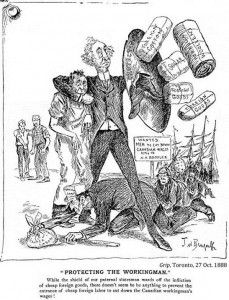 Old Chieftain or Old Charlatan? Assessing Sir John's Complex Legacy through Political Cartoons