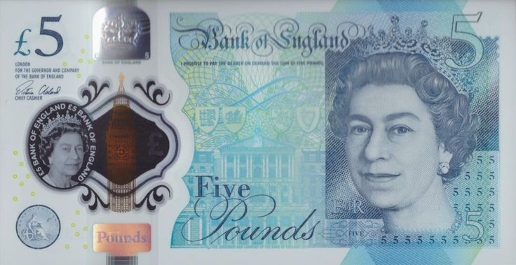GREAT BRITAIN UK 5 POUNDS 2016 P-NEW UNC QE II and CHURCHILL POLYMER   eBay