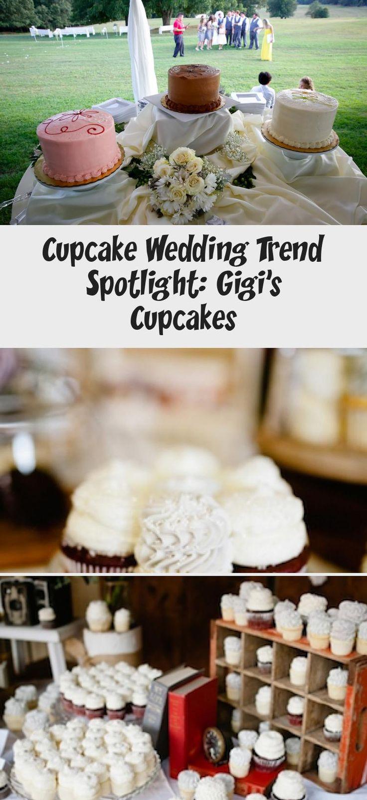 Cupcake Wedding Trend Spotlight Gigi's Cupcakes Cake in