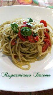 Risparmiamo Insieme: Spaghetti estivi alla Giovanni.