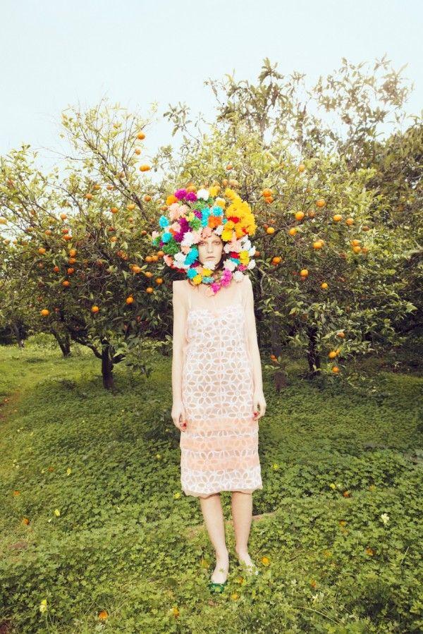 Tar Magazine #7: Flowers Bombs, Valerija Kelava, Lady Gaga, Flowers Power, Trendland Fashion Blog, Orange Trees, Tar Magazines, Roads, Mauro Mongiello