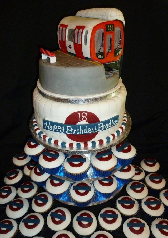Underground Music Birthday Cake